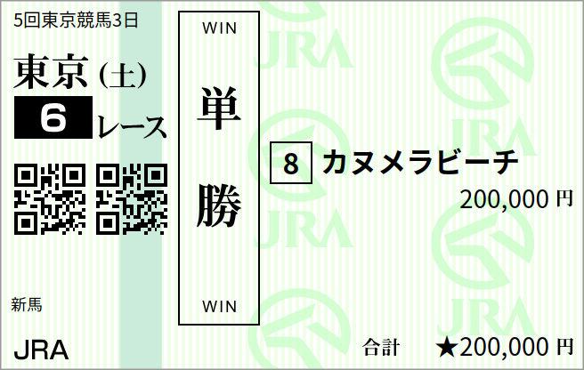 福山競馬馬連10万円的中馬券
